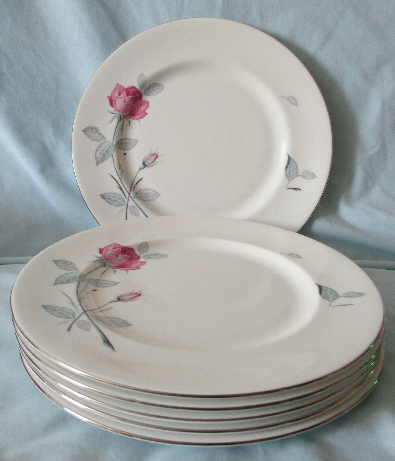 Zylstra Trent Rose England Dinner Plate Set of 6