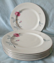 Zylstra Trent Rose England Dinner Plate Set of 6 image 1