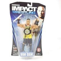 TNA Deluxe Impact Wrestling Rob Van Dam Action Figure Series 8 WWE Jakks... - $75.67