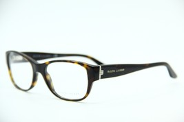 New Ralph Lauren Rl 6126B 5003 Havana Eyeglasses Authentic Rx RL6126B 53-18 - $43.01