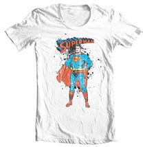 Superman Golden Age Tshirt DC comic justice league man of steel tee shirt SM1352 image 2