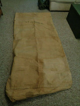 Vtg. U.S. Army WWI Cavalry Canvas Bed Roll NAMED - $399.00