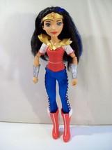 "DC SUPER HERO GIRLS WONDER WOMAN 12"" POSEABLE DOLL FIGURE - $14.65"