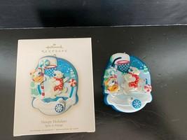 "Hallmark Keepsake Ornament ""Hoopy Holidays"" Spin-A-Majig 2008 - $5.00"