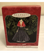 1998 HALLMARK KEEPSAKE HOLIDAY BARBIE ORNAMENT 6th in COLLECTOR'S SERIES  - $9.90