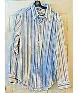 Robert Graham Button Down Shirt Blues + Sz. XL - $29.69