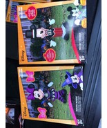 Brand new! Disney halloween mickey and minnie airblown inflatable set - $89.99