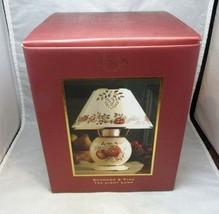 NEW in box Lenox Boxwood & Pine Tea Light Lamp - $26.99