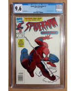 Marvel Spider-man Adventures #1 Embossed White Variant 1994 CGC 9.6 NM+  - $65.00