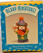Hallmark - Happy Birthday Clowns - Series 3rd - Merry Miniature Collection 1997 - $10.14