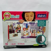 Build Your Own Mini Doll House Claire's Jewelry Accessories Store MiWorld  - $32.99