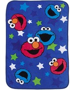 Sesame Street Toddler Blanket - Elmo & Cookie Monster - $18.69