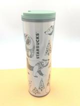1x Starbucks 2010 Tumbler 16 oz Hot Cold Snap Lid Fit Car Holder Wild An... - $19.79
