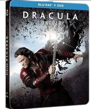 Dracula Untold Steelbook (Blu-ray + DVD)