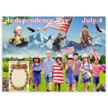 Print poster Independence Day, july 4, 4th of july, fourth of july, Decl... - $22.00+