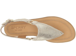 Sperry Top-Sider Women's Abbey Platinum Sandal SIZE 9.5 M image 3
