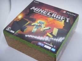 SALE PlayStation Vita Wi-Fi Console System Minecraft Special Bundle Edition - $341.38 CAD