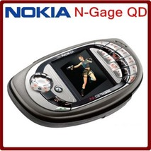 ORIGINAL Nokia N-Gage QD US (RH-47) or EURO (RH-29) Version Black UNLOCK... - $54.03