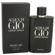 Acqua Di Gio Profumo by Giorgio Armani Eau De Parfum Spray 6 oz for Men ... - $155.58