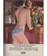1983 Dacron Lycra Panties Lingerie Sexy Vintage Print Ad 1980s - $7.13
