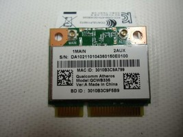 ACER ASPIRE Anatel Qualcomm Atheros Wireless Wi-Fi QCWB335 2084-12-6534 ... - $11.88