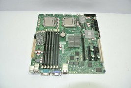 SuperMicro X7DCA-L Rev 1.01A LGA771 Server Board w/ (2) Xeon SLBBR + 16G... - $109.99