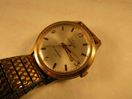 1969 12 jewel transistorized balance wheel caravelle watch for repair or... - $125.00