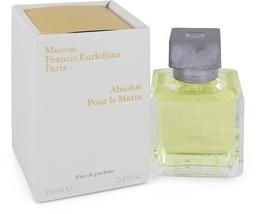 Maison Francis Kurkdjian Absolue Pour Le Matin 2.4 Oz Eau De Parfum Spray image 4