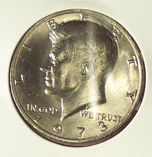 Primary image for 1973-P Kennedy Half Dollar CH BU #0076