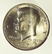 1973-P Kennedy Half Dollar CH BU #0076 - $5.34