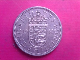 GREAT BRITAIN ONE SHILLINGS 1961    SEP06 - $1.00