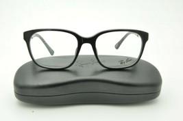 Ray Ban RB 5340F Eyeglasses 2000 Shiny Black Frame 53mm + Case - $57.93
