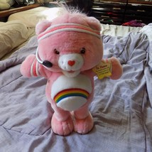 "Care Bear 2004 Fit N Fun Exercise 15"" Cheer Bear w/Tags - $12.99"