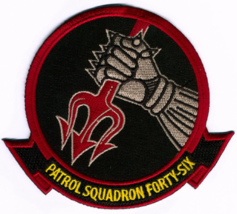 US Navy VP-46 Grey Knights Backstabber Patch NEW!!! - $11.87