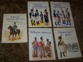 5 OSPREY MEN AT ARMS SERIES NAPOLEONIC WARS BOOKS FRENCH BRITISH, GERMAN - $25.00