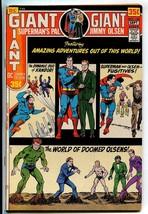 1971 Superman's Pal Jimmy Olsen #140 Giant G-86 Kandor Edmond Hamilton C... - $8.99