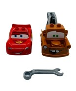 Lego Duplo Lightning McQueen & TowMater 2 Cars w/ Wrench Set - $19.20