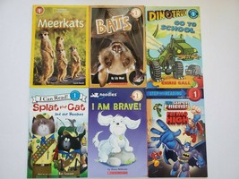 Scholastic Readers Level 1 I Can Read Passport Step Into Lot Of 6 Beginn... - $14.84