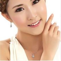 Jewelry Sets Cubic Zircon Statement Necklace & Earrings Rings Wedding Jewelry - $9.00