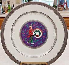 Mikasa Luncheon Plate Twelve Days Christmas 12 Drummers Drumming 1999 Pl... - $18.70
