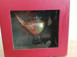 "NEW NIB NORDSTROM 2008 BIRD CHRISTMAS HOLIDAY ORNAMENT 3.5"" - $13.76"