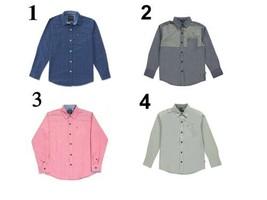 Nautica Boy's 8-20 Shirt Woven Button-down Long Sleeve