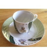 Unmarked Handpainted Cup and Saucer, Vintage Collectibles, Collectible C... - $20.00