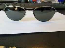 NEW OLIVER PEOPLES SUNGLASSES OV1091S 5036/N5 THORNHILL 2 SILVER/GREY VF... - $187.11