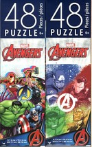 Marvel Avengers - 48 Pieces Jigsaw Puzzle - (Set of 2) - $14.84