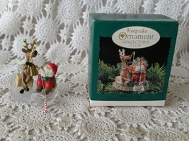 Hallmark Keepsake Fishing For Fun 1995 Christmas Ornament - $9.69