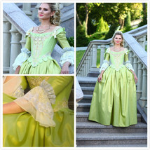 18th Century Marie Antoinette Dress Gown Cosplay Costume  - $169.00
