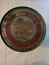 Vintage Quaker State Super Blend Motor Oil, Original Tin Can, Empty  image 5