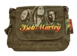 Zion Rootswear Bob Marley Roots Rock Reggae Rasta Music Shoulder Bag ZRB... - $61.31 CAD