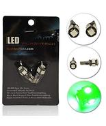 Flashtech LED Exterior and Interior SMD LED Bulbs - 5 LED - Green - T10 ... - $19.60